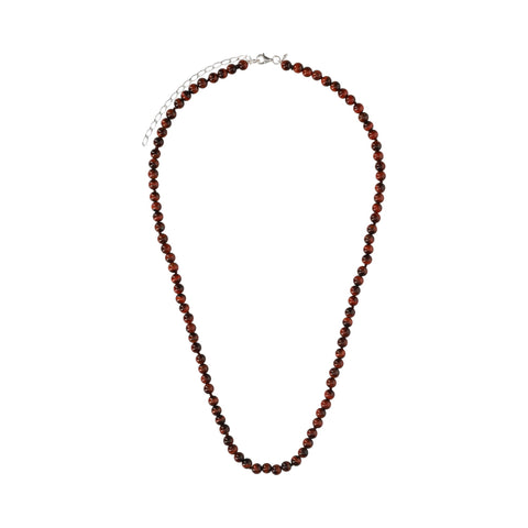 Red Tiger Eye Medium Necklace - N2213