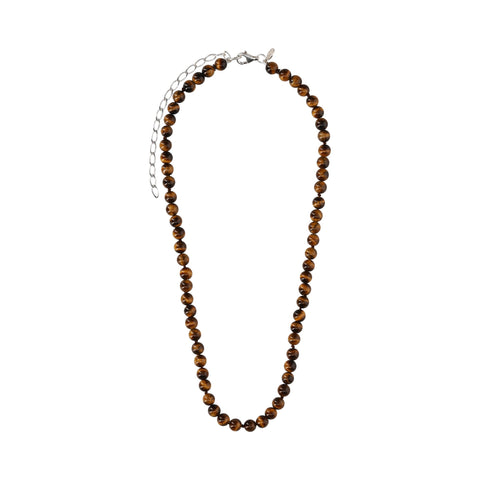 Tiger Eye Short Necklace - N2215