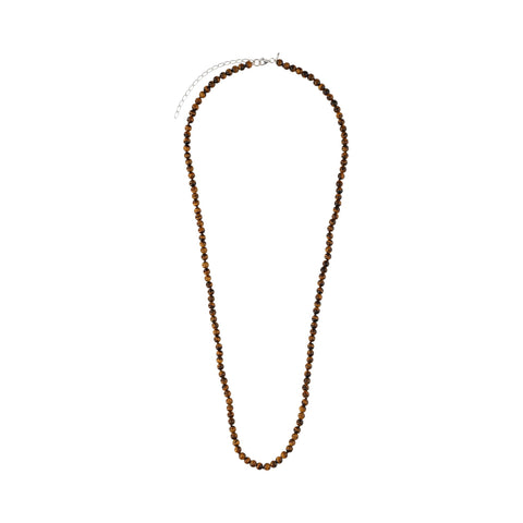 Tiger Eye Long Necklace - N2217