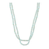 Double Amazonite Short Necklace - N2231