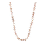 Double Pink Pearl Medium Necklace - N2234