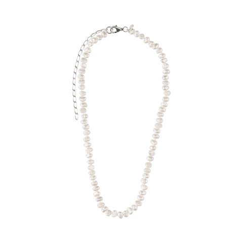 White Pearl Short Necklace - N2239