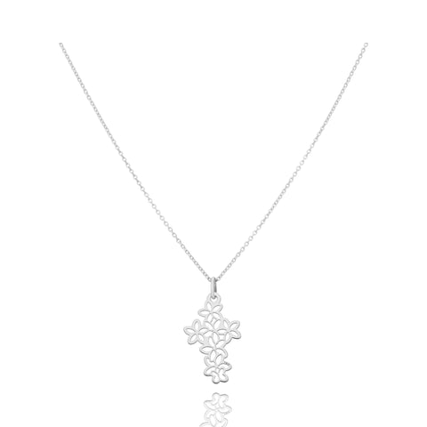 Motives Sterling Silver Flower Cruss