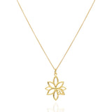 Paradise Sterling Silver Gold Plated Small Pendant