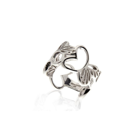 Silver Monarch Ring