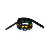 Multicolored Embroidered Oaxacan Ribbon
