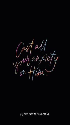 Cast all your anxiety on Him | 1 Peter 5:7