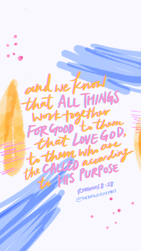 Romans 8:28 Bible Scripture