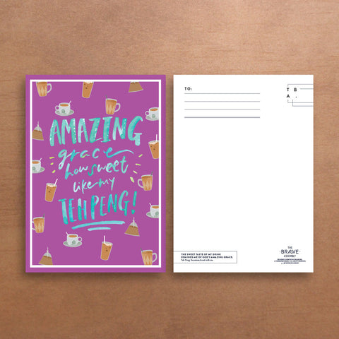 Amazing Grace / Postcard