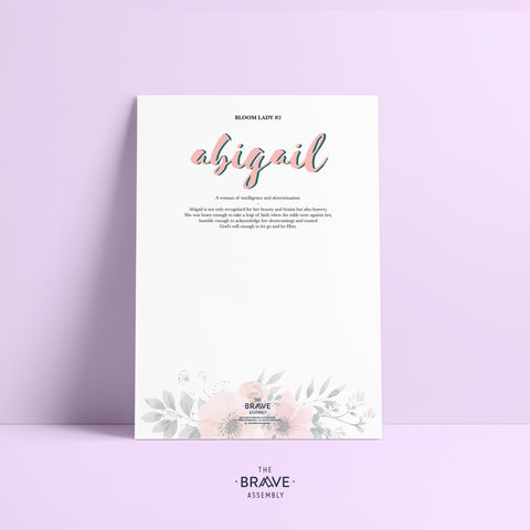 BLOOM Lady #2: Abigail