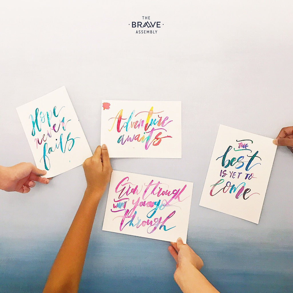 [ 19 AUGUST WORKSHOP ] Basic Brush Calligraphy