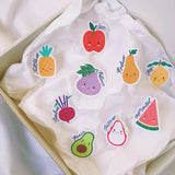 Fruit Basket (Set of 9) | Vinyl Sticker Pack