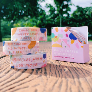 Daily Praise & Worship / Washi Tape