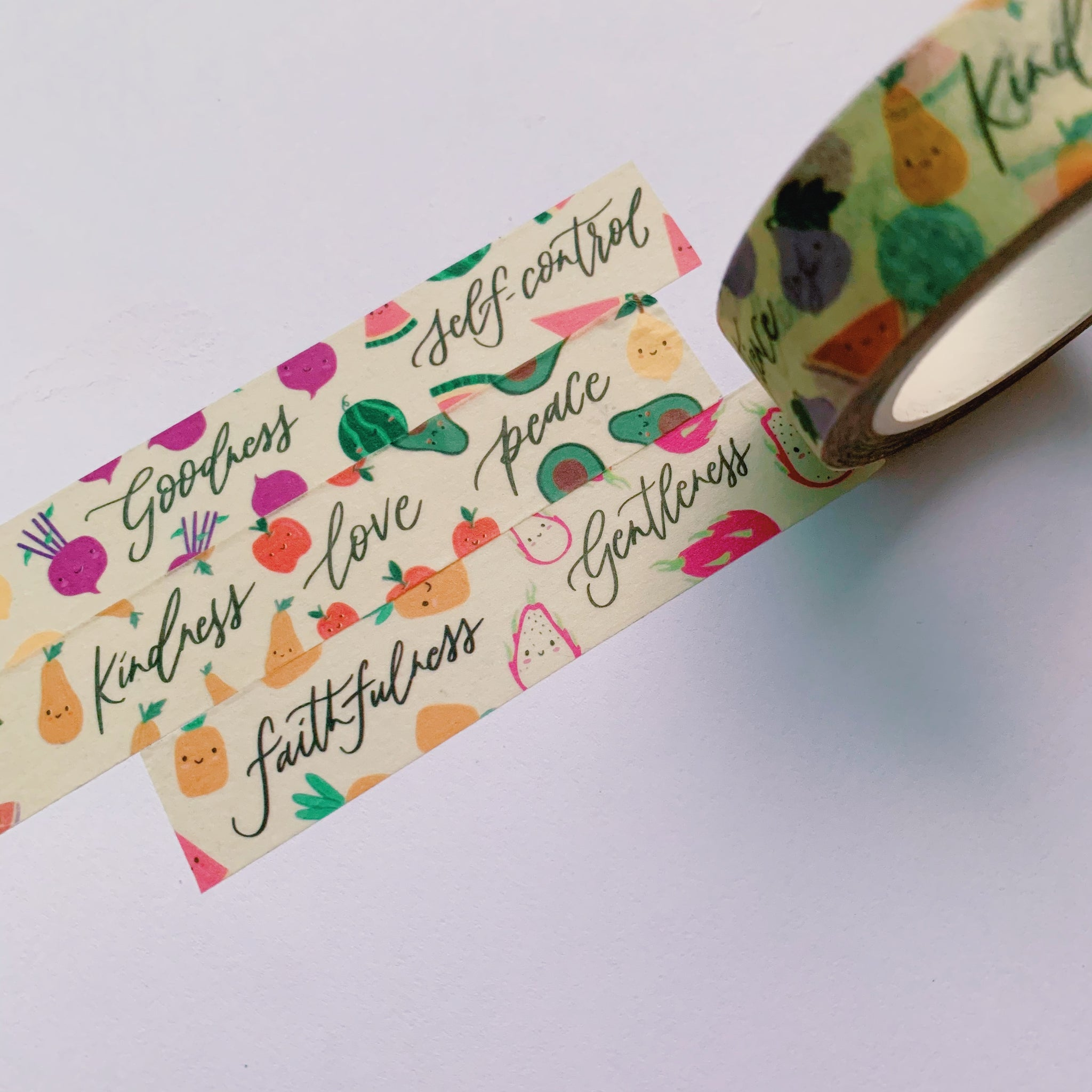 Fruit of The Spirit / Washi Tape