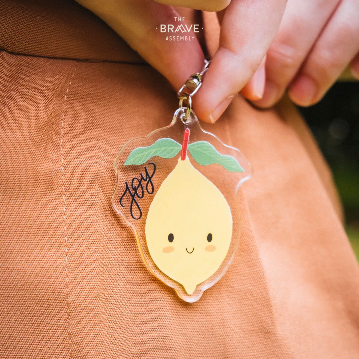 Joy (Lemon) | Acrylic Keychain