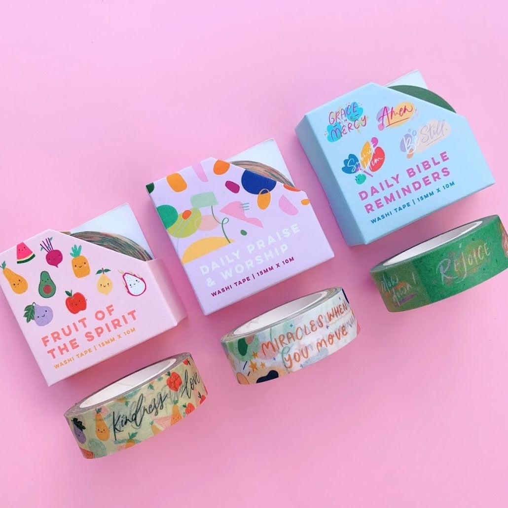 SET OF 3 | WASHI TAPE BUNDLE