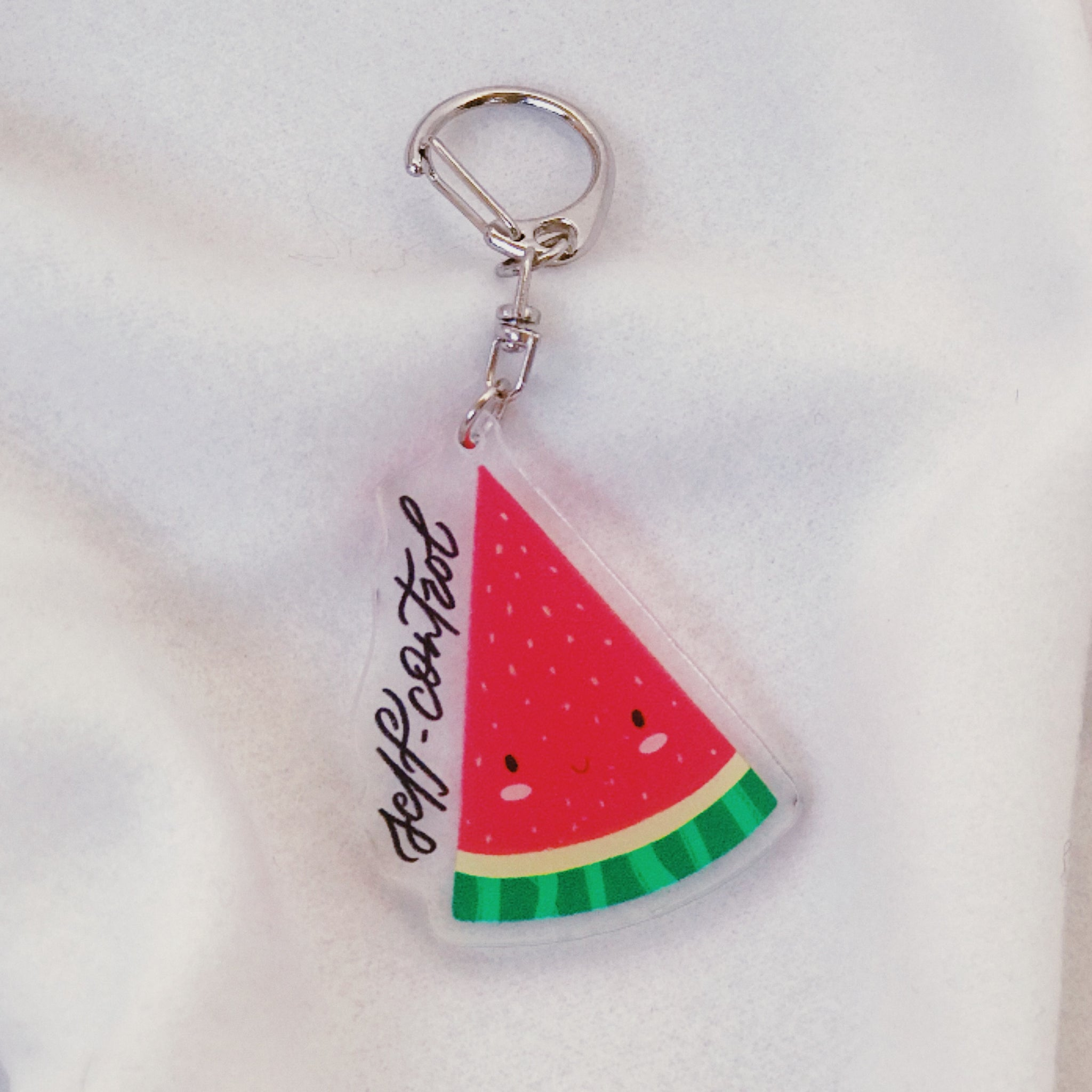 Self-Control (Watermelon) | Acrylic Keychain