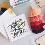 TBA x F&S : Butter With You (Gift Card)