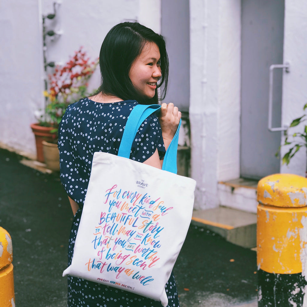 [BEAUTIFUL] En:Courage Tote Bag
