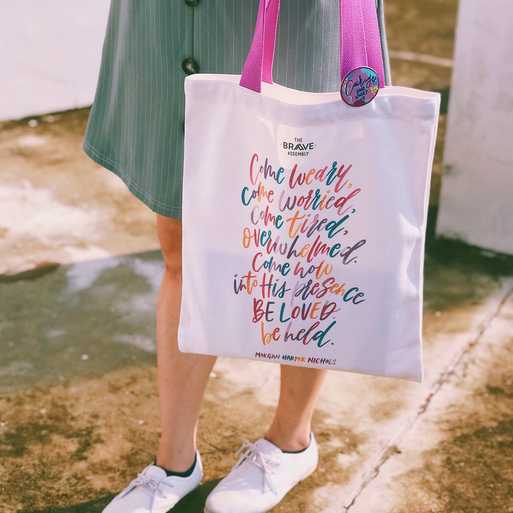 [BELOVED] En:Courage Tote Bag
