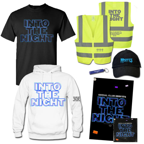 Deluxe Bundle: Safety Vest + Flashlight + Hat + Hoodie + Tee + SIGNED Poster + CD
