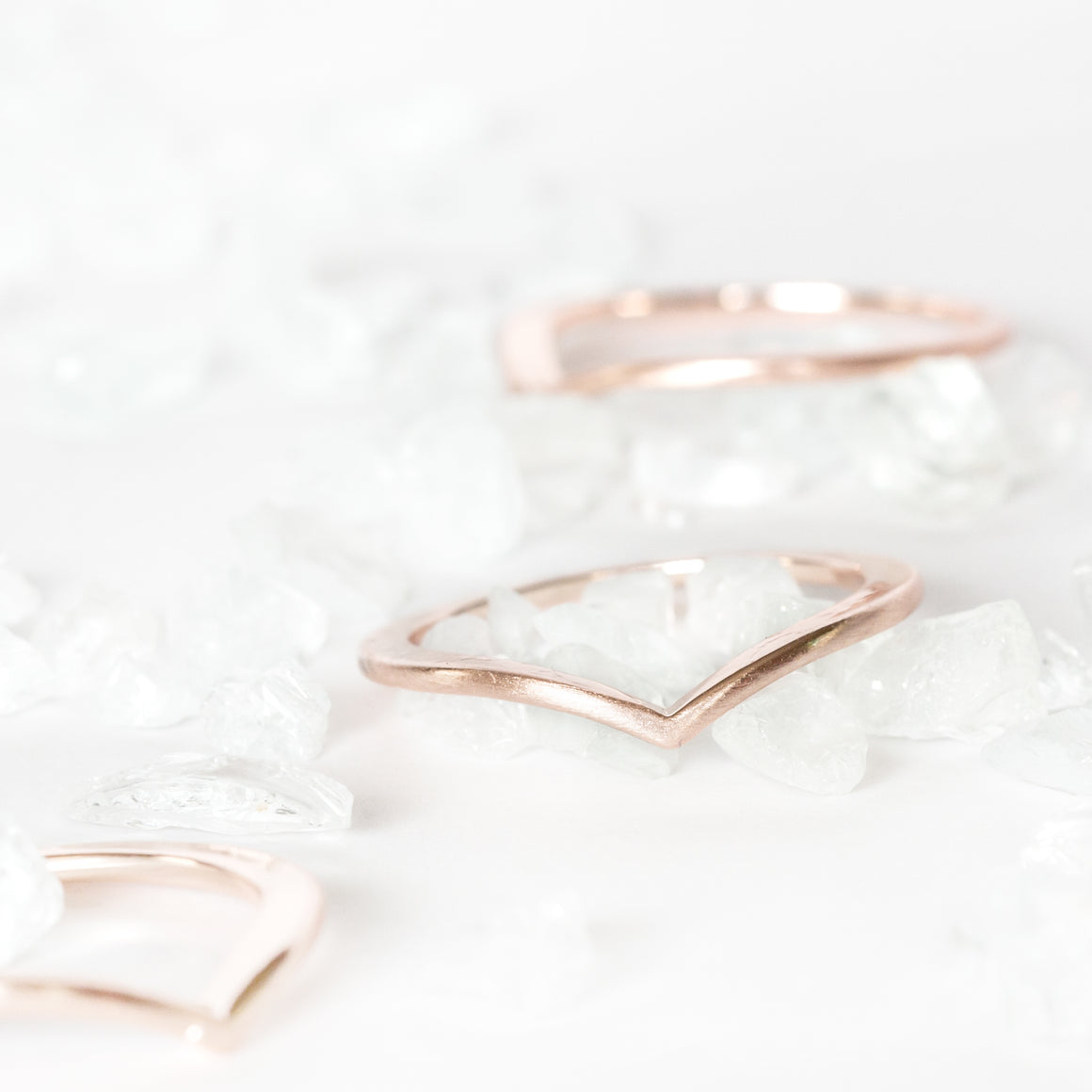 The Evelyn Stacking Ring