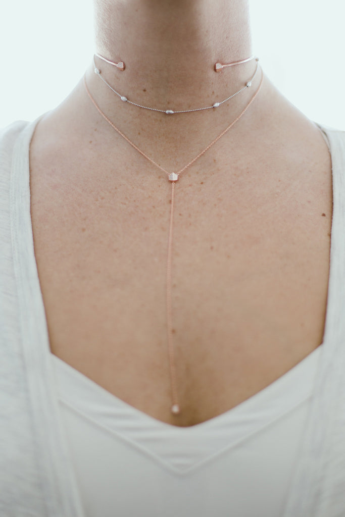 The Kimberly Beaded Choker