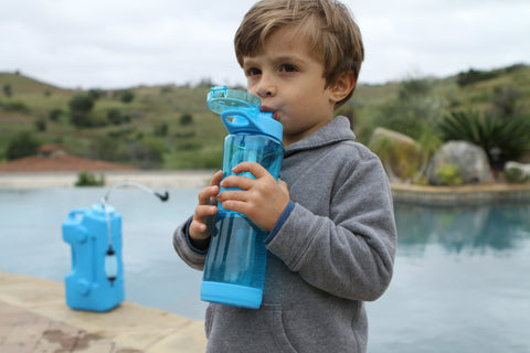 AquaBrick Water Filtration System Removes Fluoride From Water