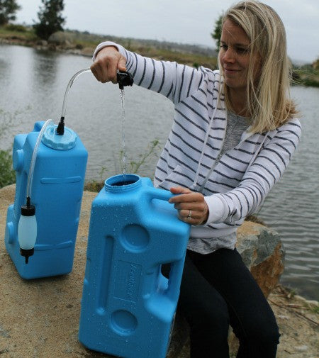 AquaBrick Water Filter can filter even flood water into clean drinking water