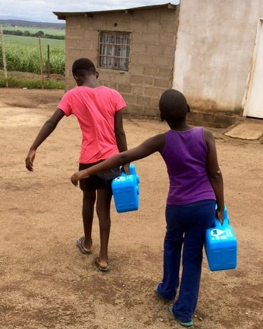 Clean Drinking Water is available to third-world countries with the Sagan Life Water Purification Systems