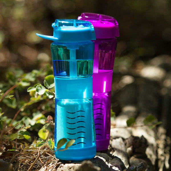 Water filter bottle camping, water purification filter, water purifier bottle for travel, Camping water filter