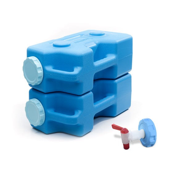 AquaBrick™ Food and Water Storage Container - 2 Bricks Plus Spigot - Free Shipping