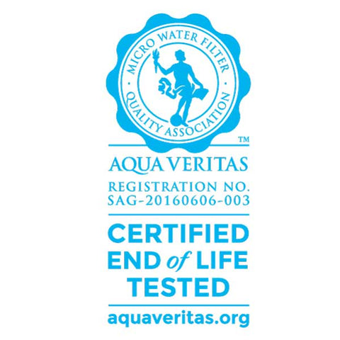 Check Aqua Veritas to make sure your water filters really work.