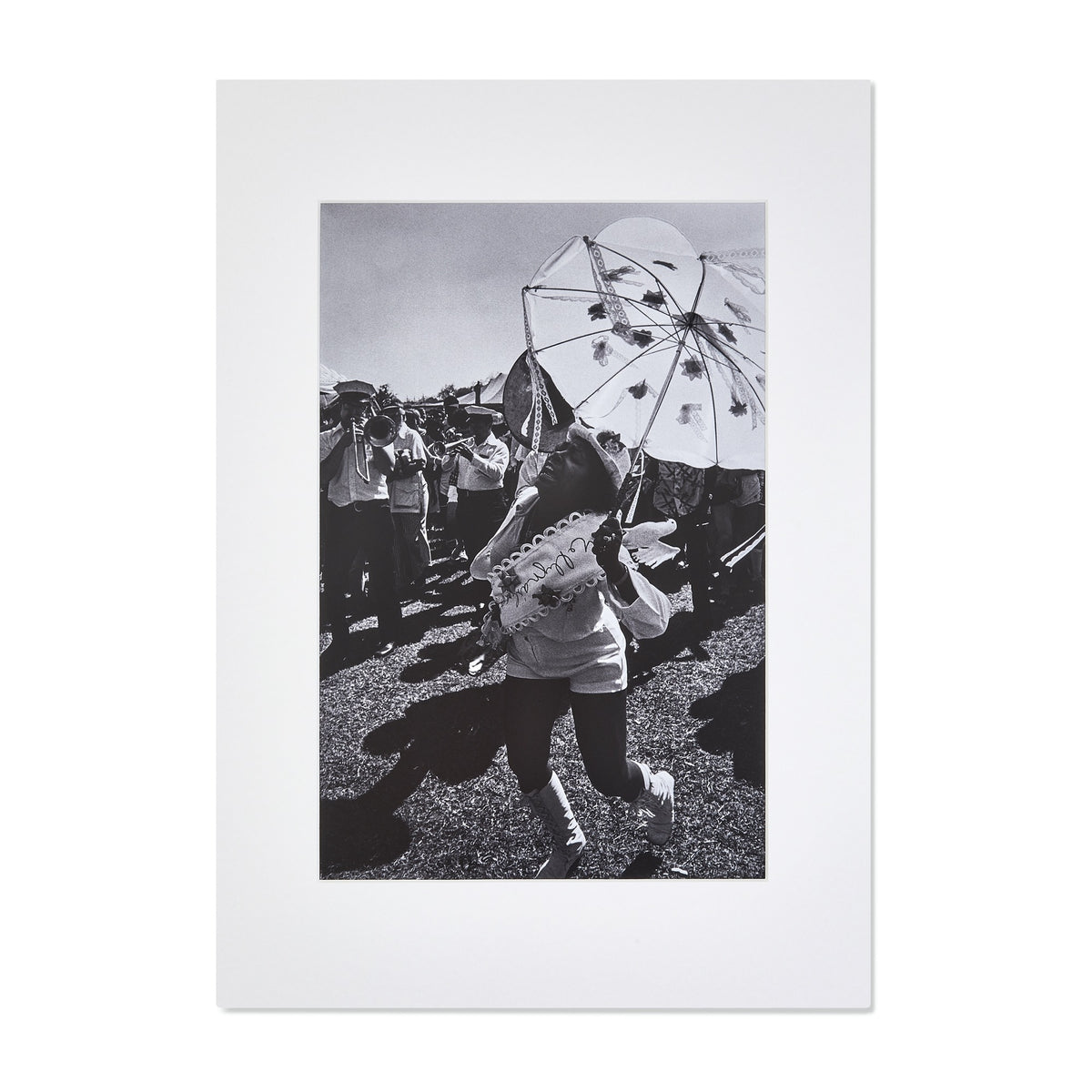 "Frank Stewart, Untitled (from the ""Second Line"" series), Mounted Print"
