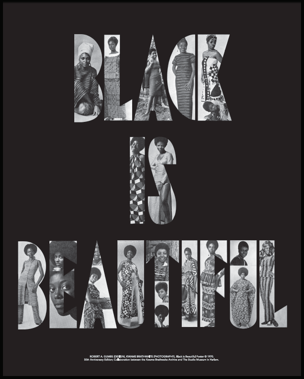 Kwame Brathwaite, Black is Beautiful, Limited Edition, Poster