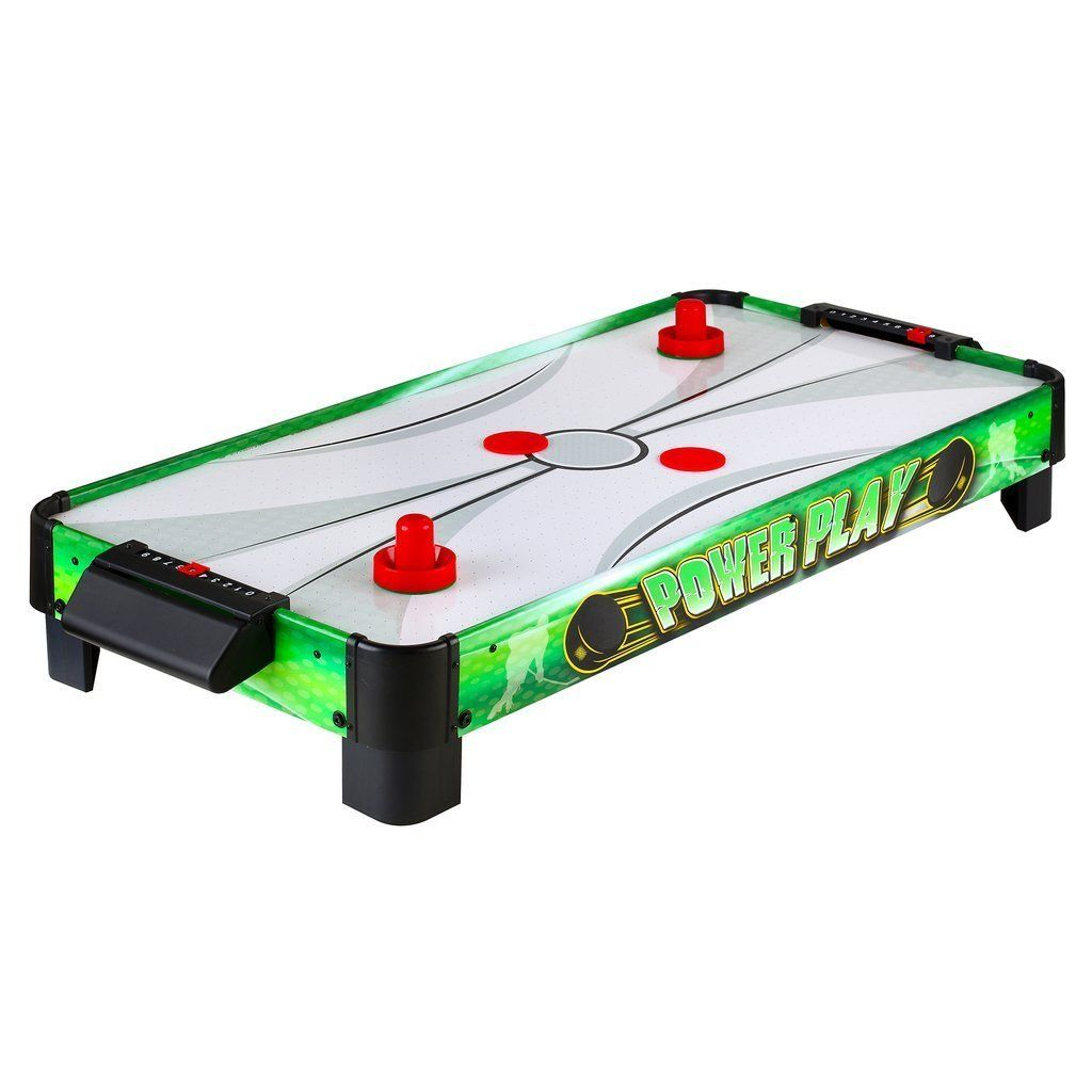 Carmelli Table Top Game Power Play 40 In Table Top Air Hockey   Any Cooler  ...