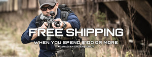 Free Shipping on Tactical Gear