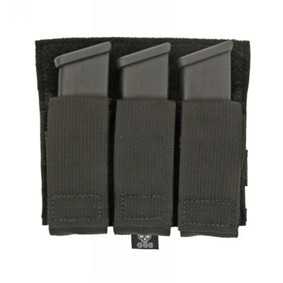 Triple Pistol Mag Panel Pouch
