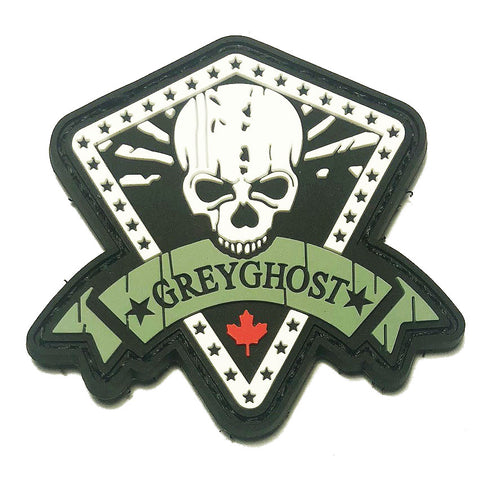 Grey Ghost Canada PVC Patch