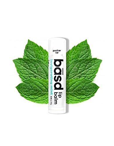 organic peppermint oil and aloe vera makes our lip balm so great you'll want to kiss and tell