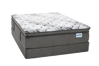 Verlo v9 Pillow Top Full Mattress Double Sided