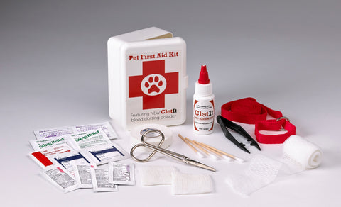 Pet First Aid Kit - ClotIt
