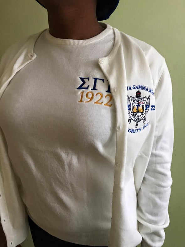 Sigma Gamma Rho Twin Sweater Set