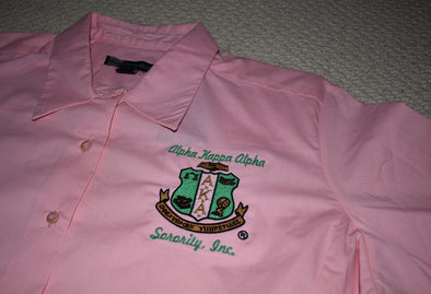 AKA Ladies Blouse with Crest