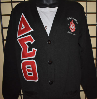 DST Cardigan (Twill Letters)