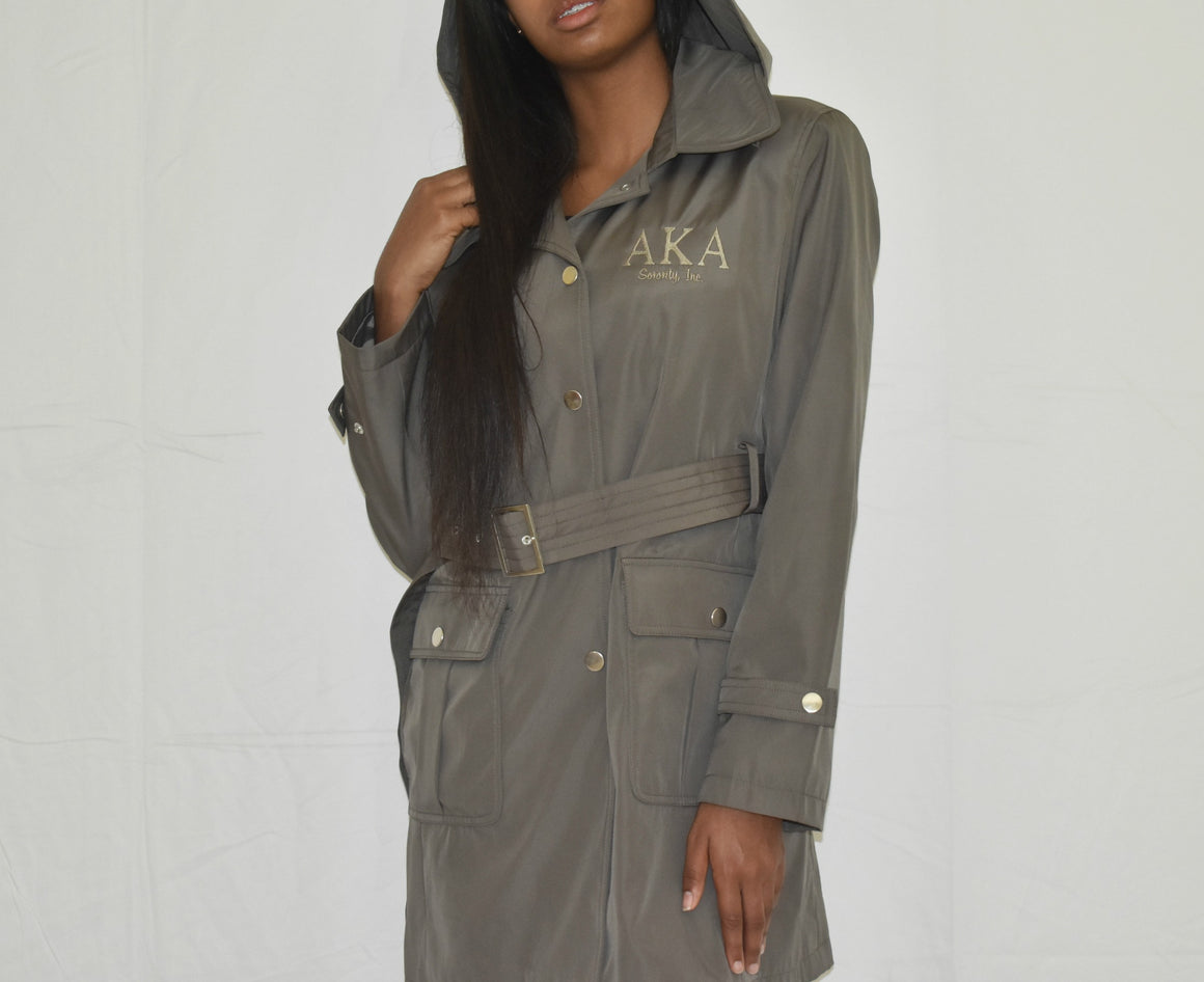 AKA Hooded All-Season Trench