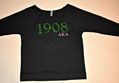 AKA 1908 Loose Neck Sweatshirt