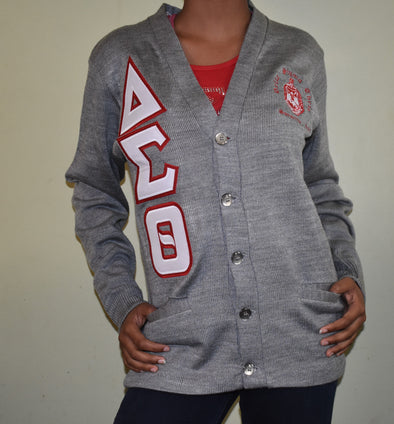 DST Cardigan Grey (Twill Lettters)