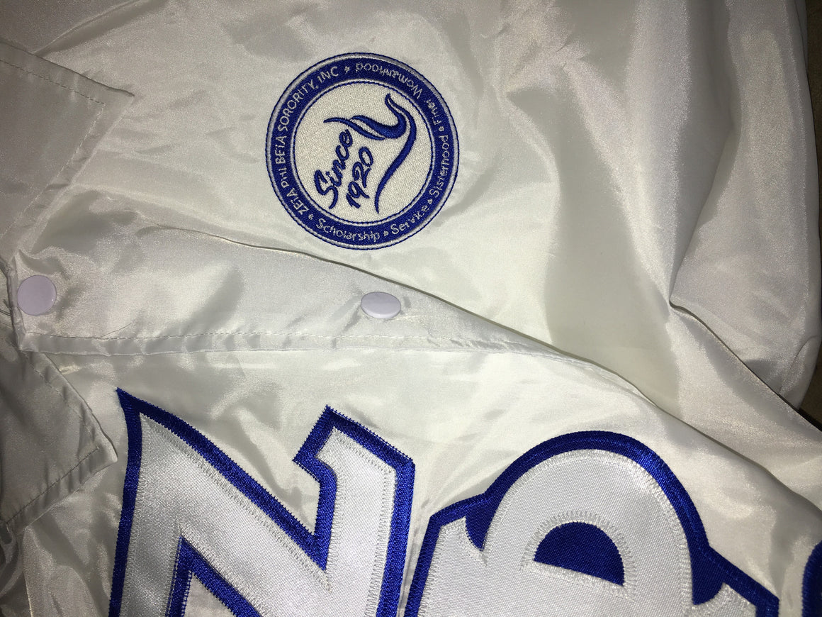 Zeta Coaches Jacket