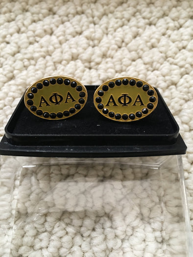 A Phi A Jeweled Cufflinks